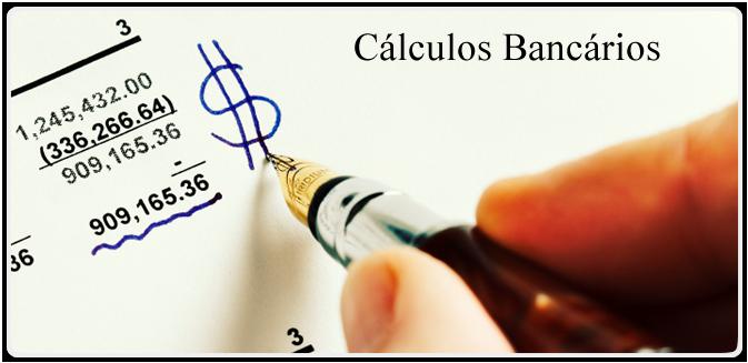 Cálculos Bancários